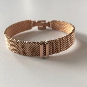 Keep Collective Rose Gold Mesh bracelet